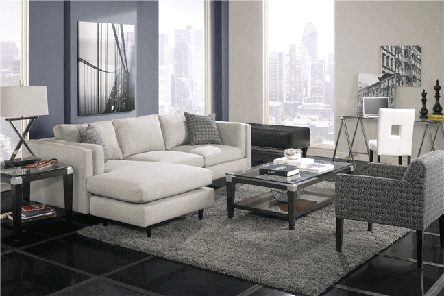 Peachy Davenport Sofa With Chaise For Rent Brook Furniture Rental Customarchery Wood Chair Design Ideas Customarcherynet
